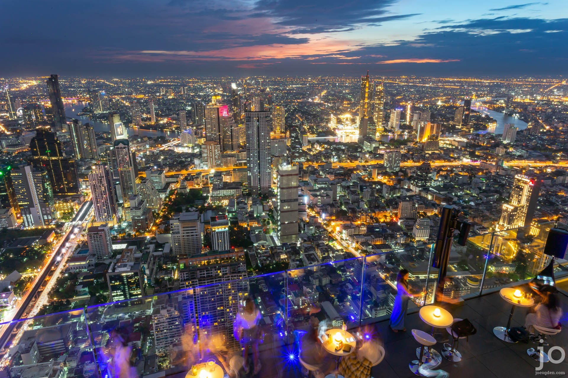 View from the King Power Maha Nakhon Tower, Bangkok, Thailand