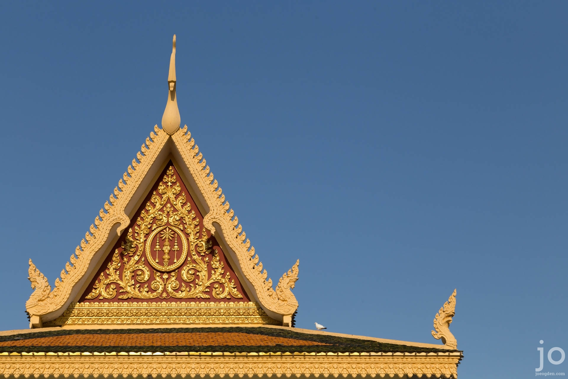 Royal Palace roof, Phnom Penh, Cambodia