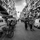Street scene, Yangon, Myanmar