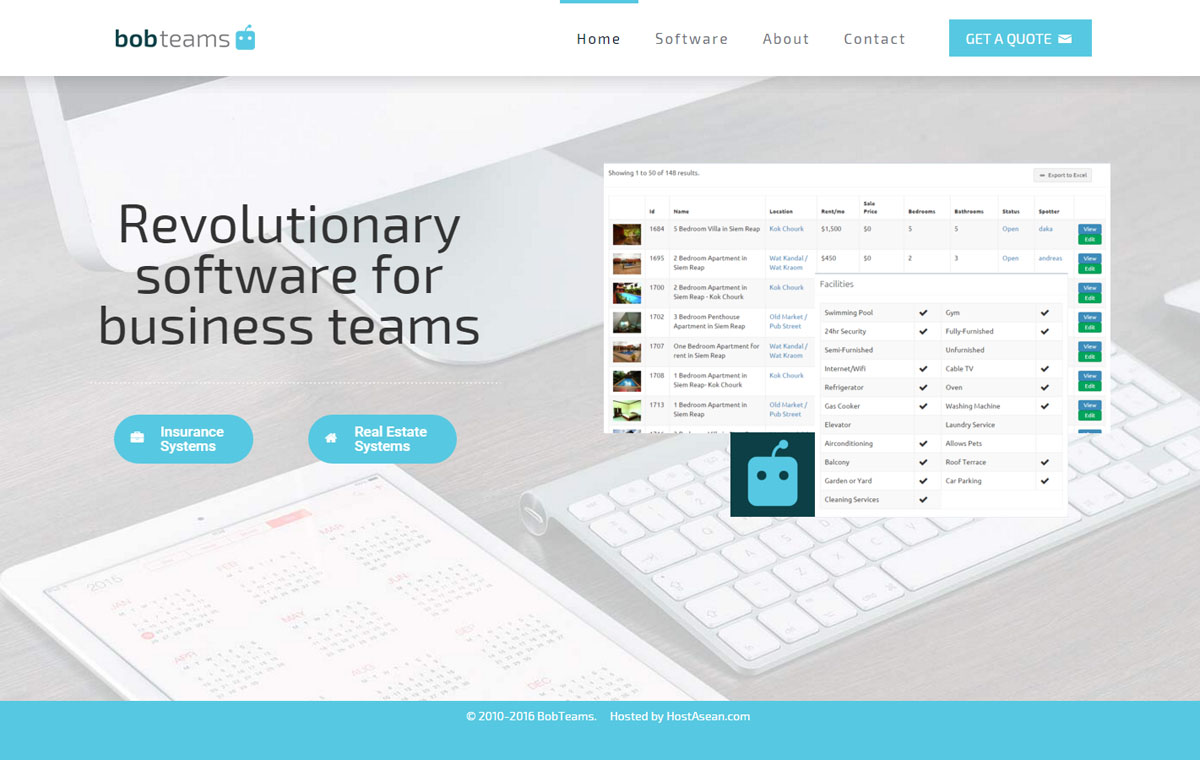 Bobteams software development web design joe ogden for Website planning software