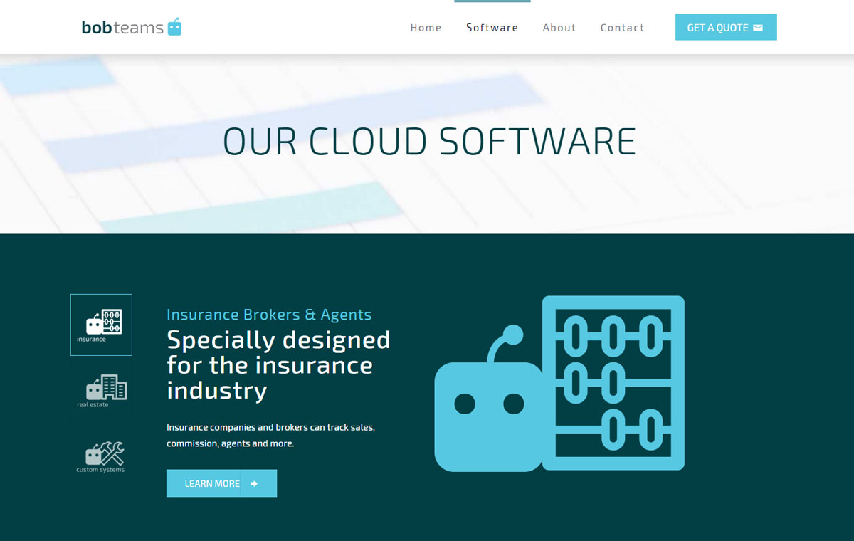 Bobteams software development web design joe ogden for Website planning tool
