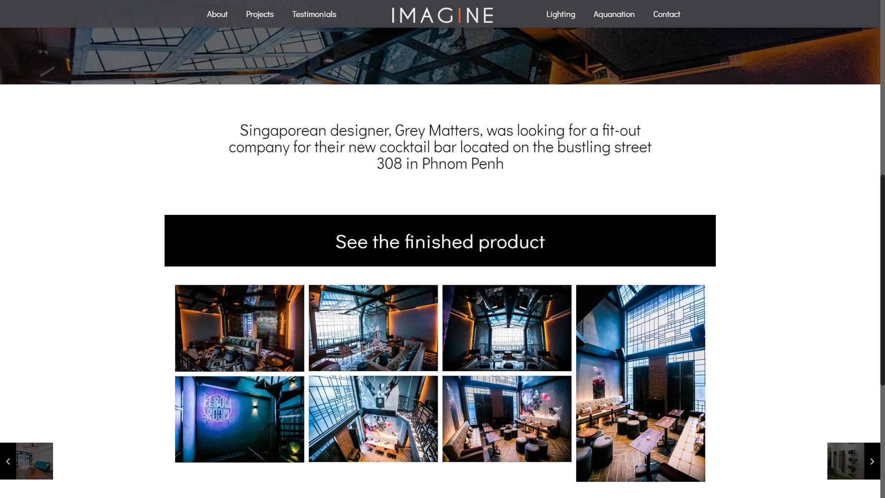 Project management website