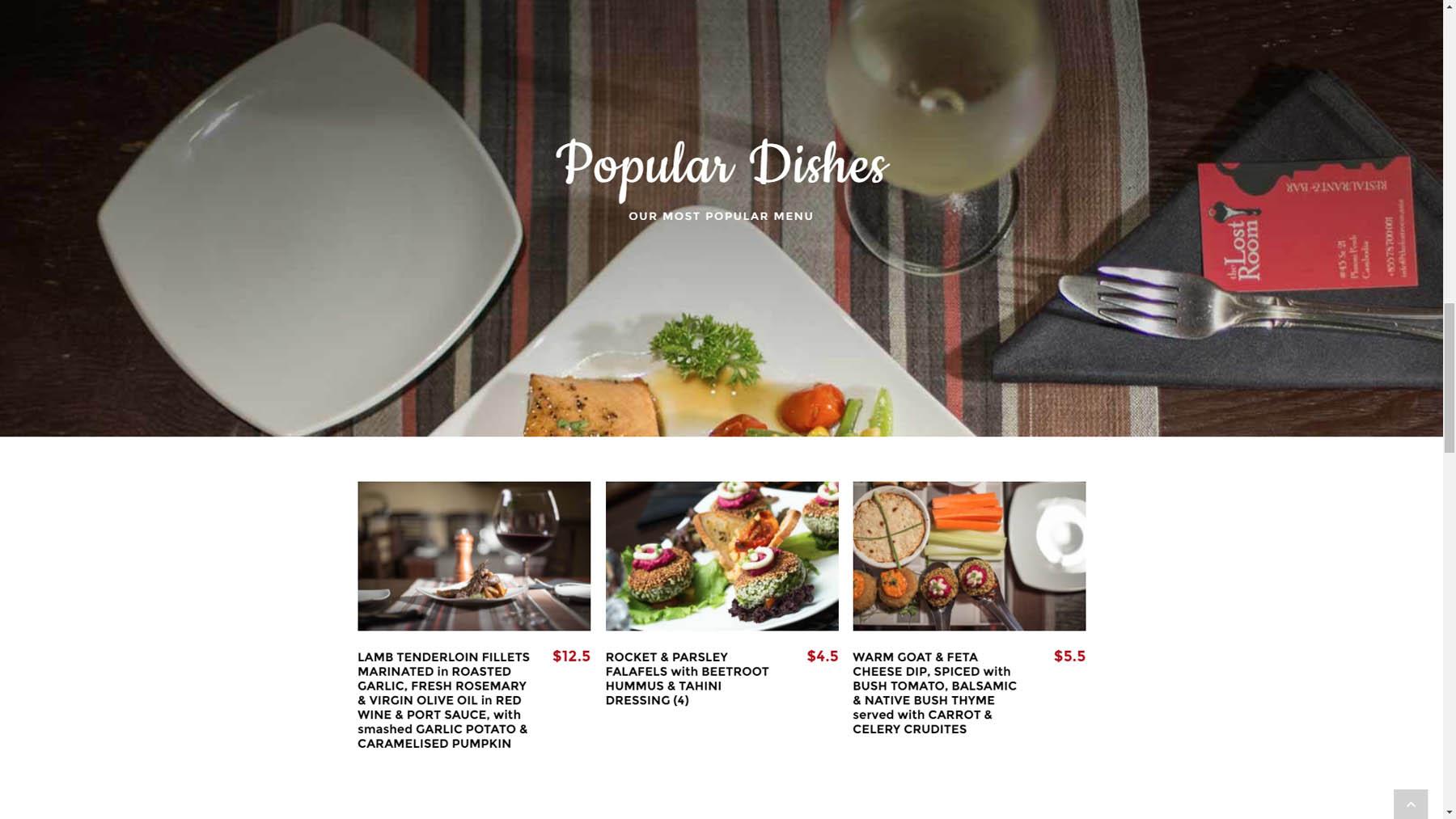 The lost room restaurant website design joe ogden cambodia for The make room website